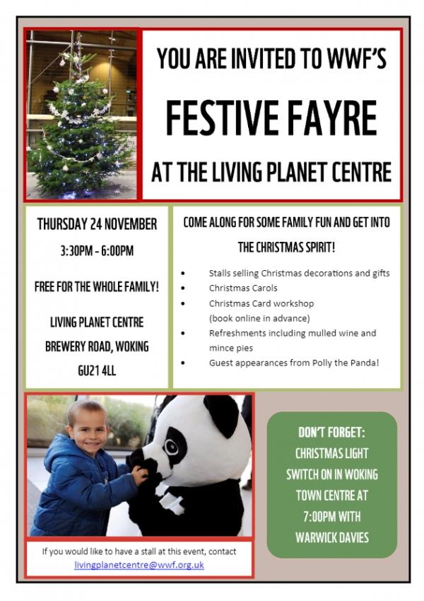 WWF'S Festive Fayre