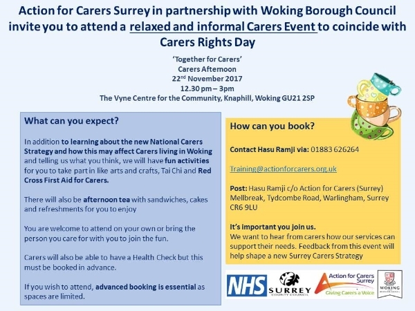 Carers Right Day