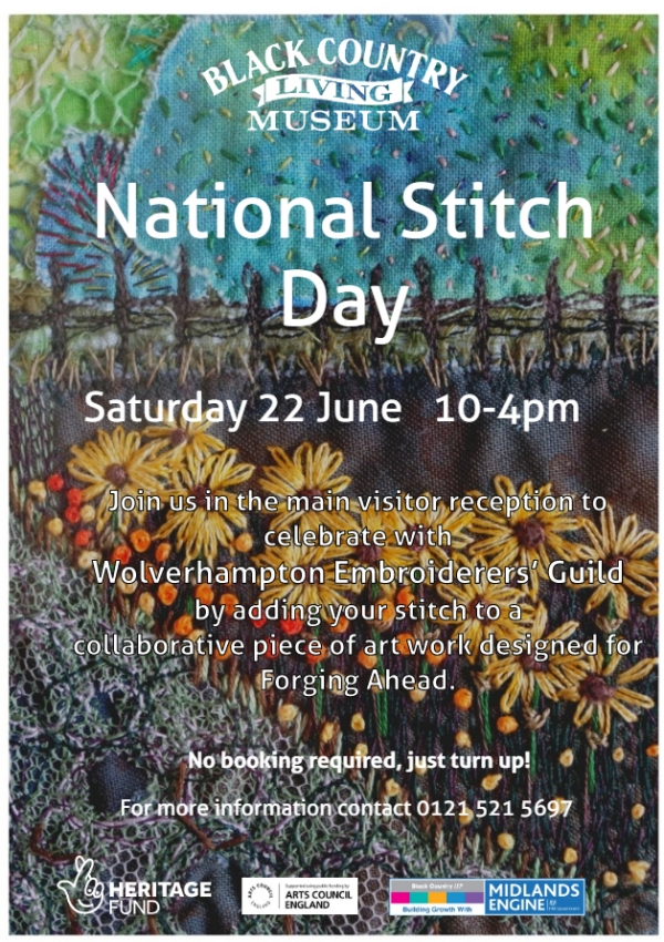 National Stitch Day at Black Country Living Museum