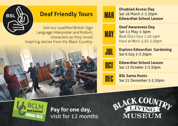 Black Country Living Museum Deaf Friendly tours