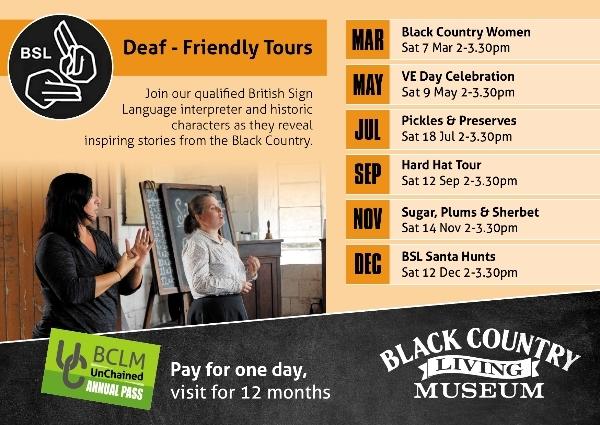 British Sign Language tour - Black Country Women