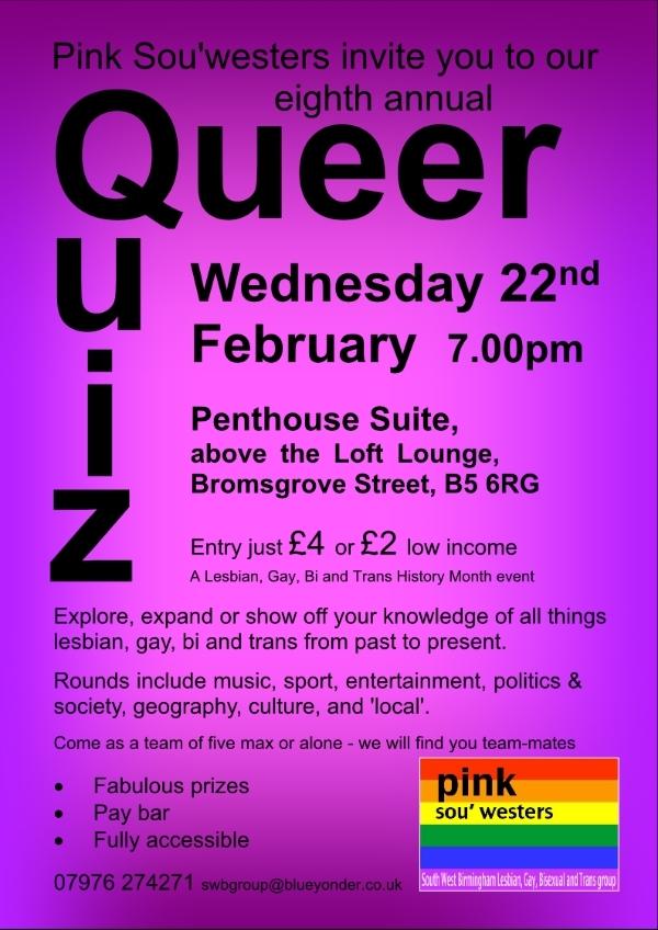 Lesbian gay bisexual quiz