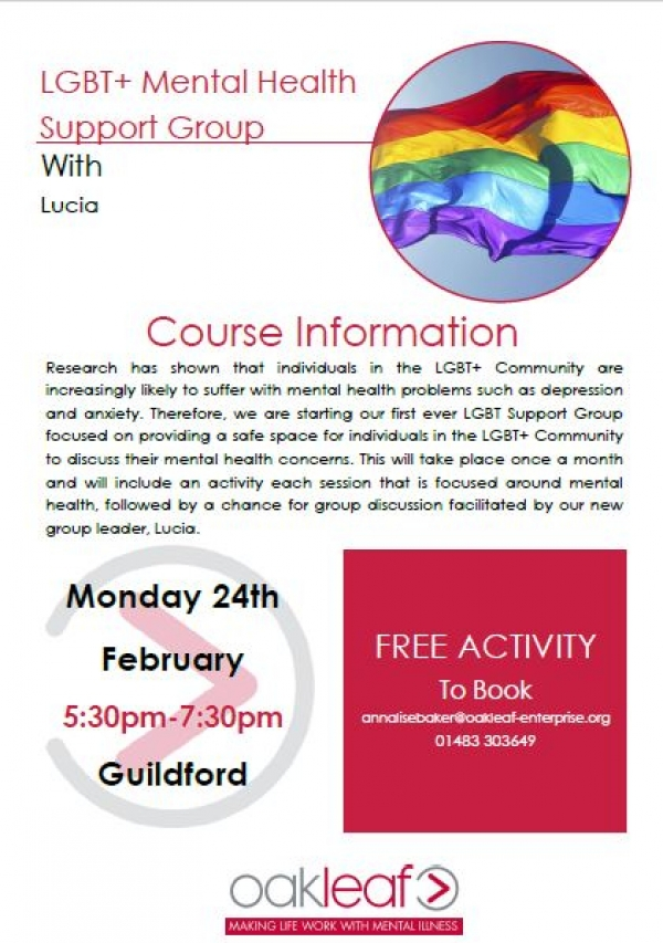 LGBT Mental Health Support Group