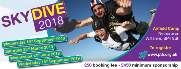 Phyllis Tuckwell Hospice Care Skydive - September 18