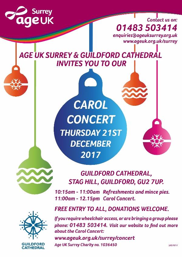Age UK Carol Concert