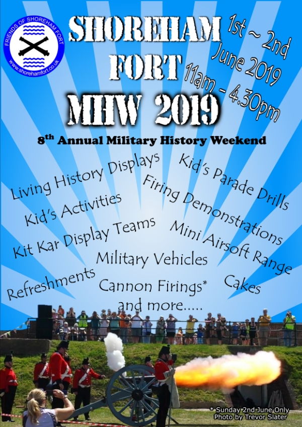 MHW 2019 - Shoreham Fort's 8th Annual Military History Weekend