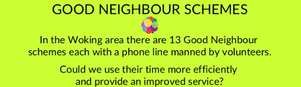 Good Neighbour Schemes - could they work better together?