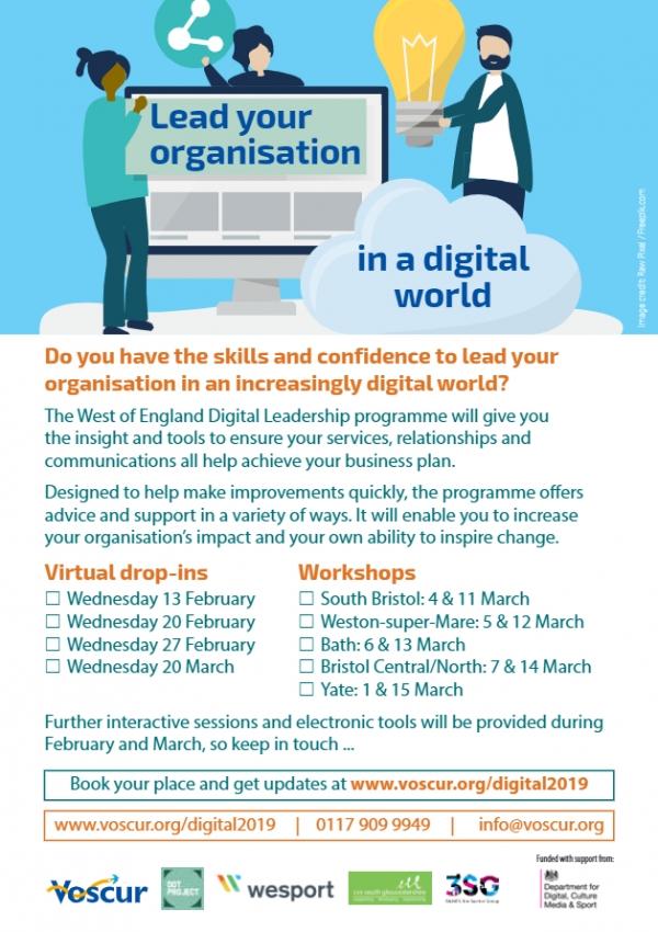 Digital Leadership Programme: 6th and 13th March 2019 - BRLSI - Bath