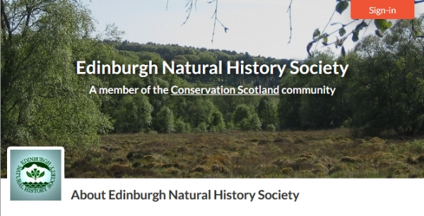 Welcoming New Member to Conservation Scotland: Edinburgh Natural History Society