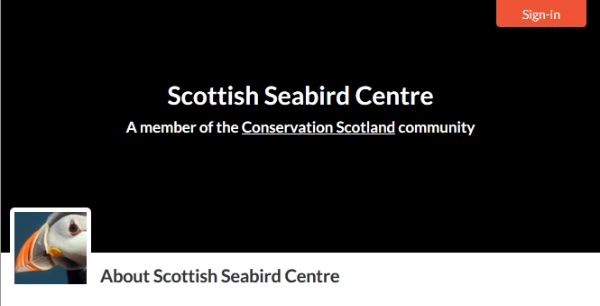 Welcoming New Member to Conservation Scotland: Scottish Seabird Centre