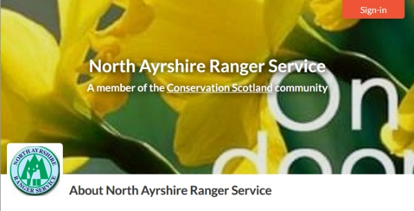 Welcoming New Member to Conservation Scotland: North Ayrshire Ranger Service