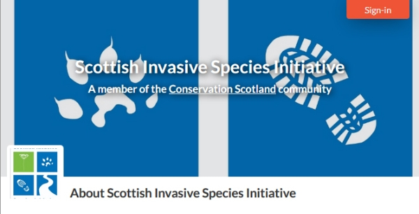 Welcoming New Member to Conservation Scotland: Scottish Invasive Species Initiative