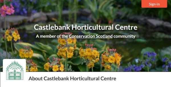 Welcoming new member to Conservation Scotland: Castlebank Horticultural Centre