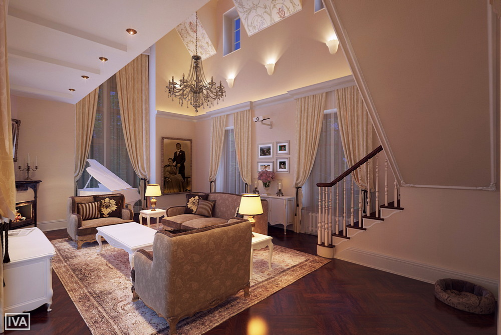 Interior 3d architectural visualization image 001
