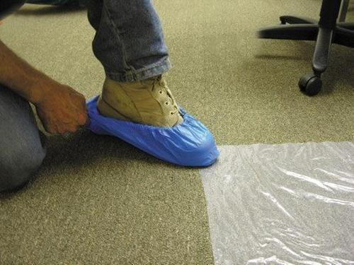 3 mil Pro Tect Plastic Shoe Booties at
