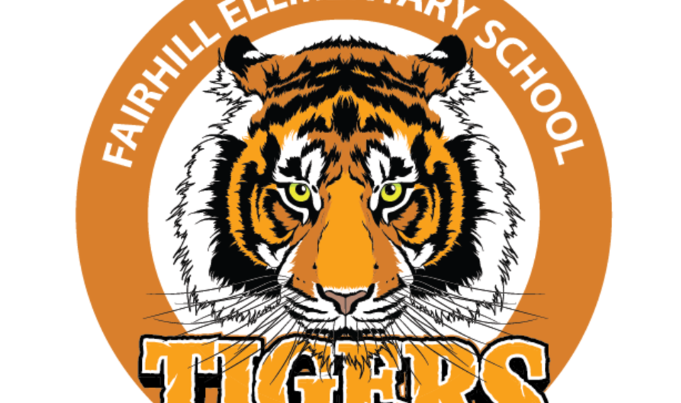 Large fairhill elementary tiger logo rev
