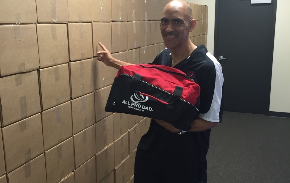 Large coach dungy prize pack