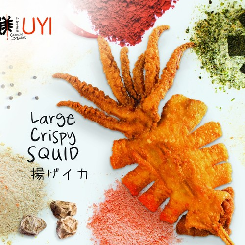 Uyi large crispy squid