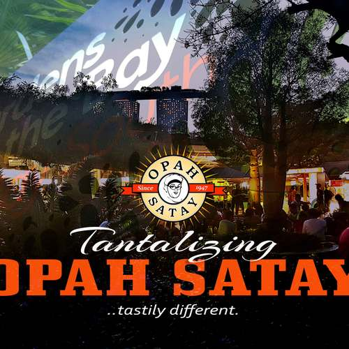 Opah satay   stay by the bay
