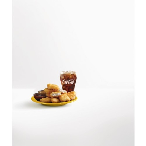 Mcnuggets 9pc with coke