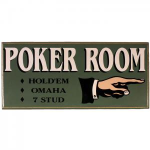 Poker Signs & Decorations