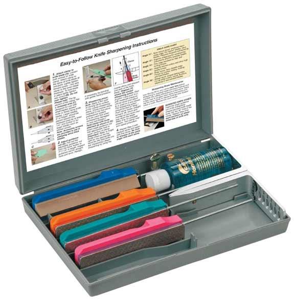 High-Caliber Highlight Knife Sharpening Kits