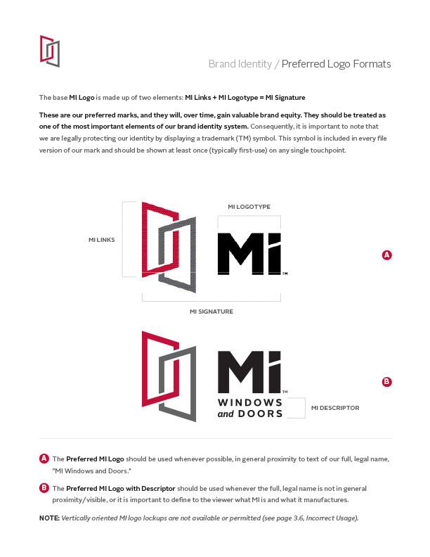 MI brand identity - logo formats