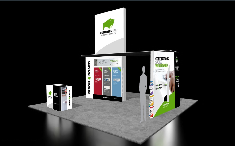 CBP Exhibition Booth - branding