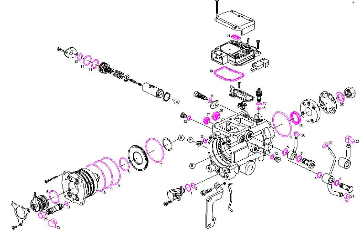 Diagram In Addition Bosch Vp44 Injection Pump Besides Fuel Pump