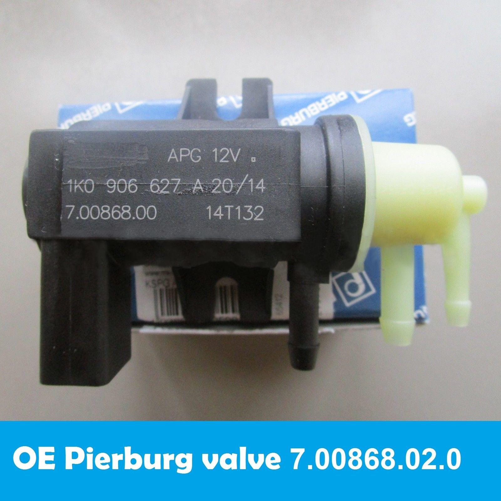 Pierburg Electric Valve Electrical 12 V 7.22687.39.0#OEM 078906283A For VOLKSWAGEN 078 906 283 A