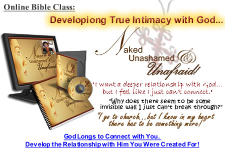 Intimacy with God Class