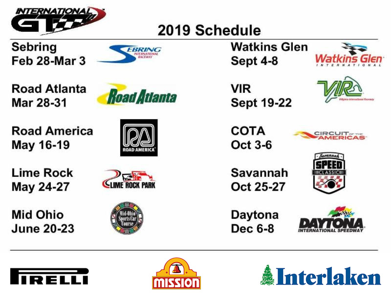 international-gt race schedule