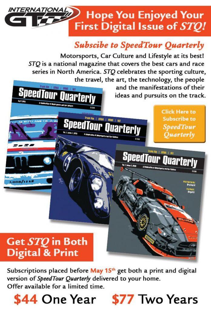 speed tour magazine