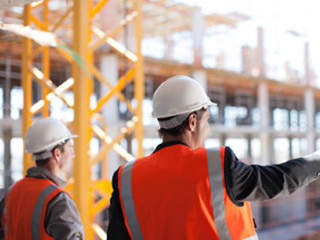 Construction Site using IntouchCheck Mobile Forms Software Construction Checklists