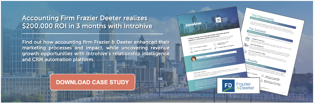 Frazier Deeter Accounting Case Study
