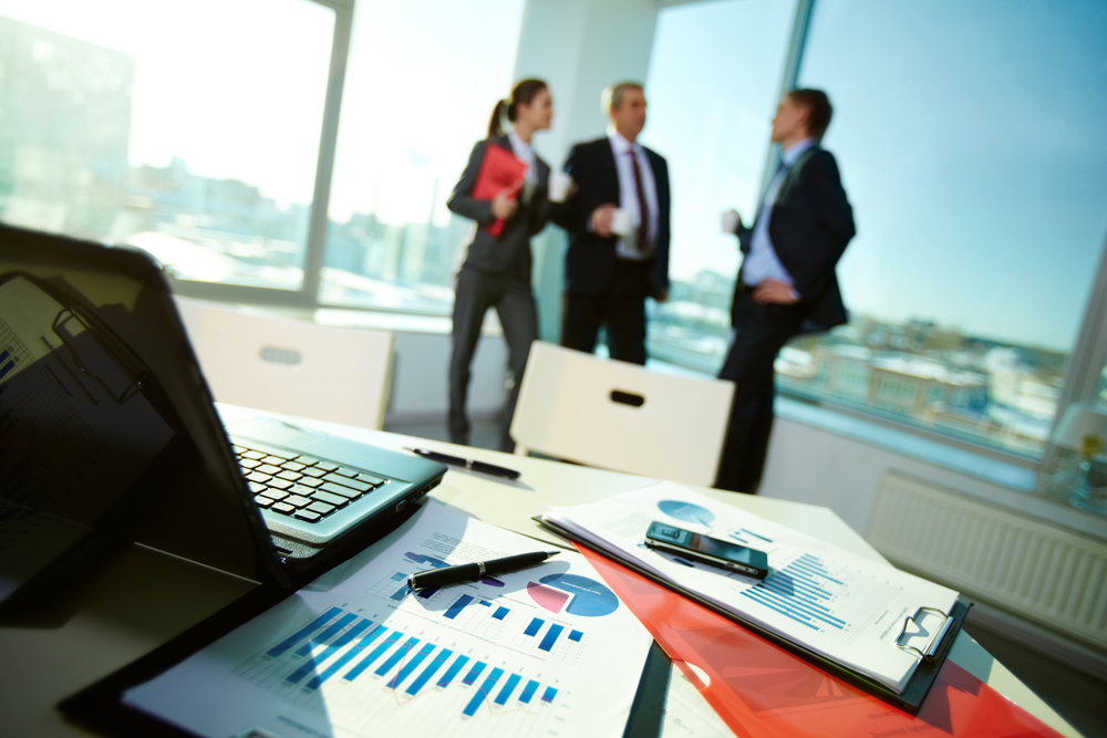 Accounting Firm Business Development Team Talking