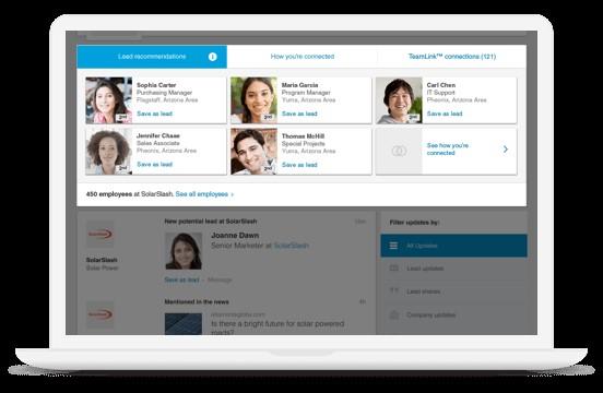 LinkedIn Sales Navigator Recommended Leads
