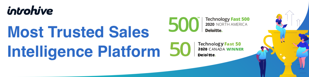Introhive wins Fast 50, Fast 500 awards