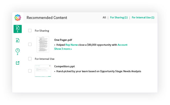 Screenshot of Showpad