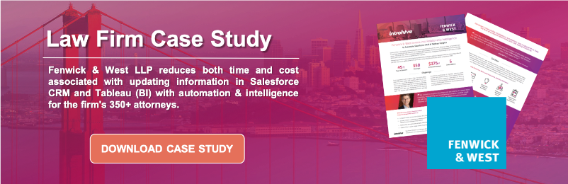 Fenwick & West - Legal Case Study - Introhive