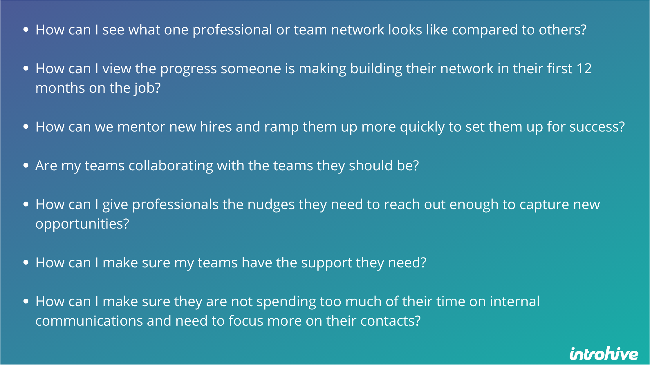 collaboration: leaders must ask tough questions