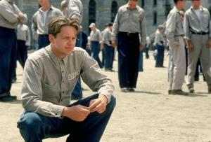 Andy Dufresne at Shawshank State Penitentiary