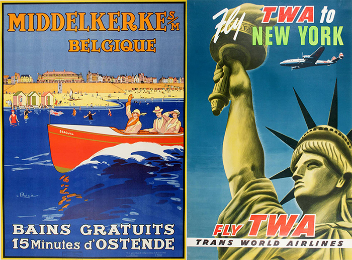 How Travel Posters Journeyed From Ad to Art Form