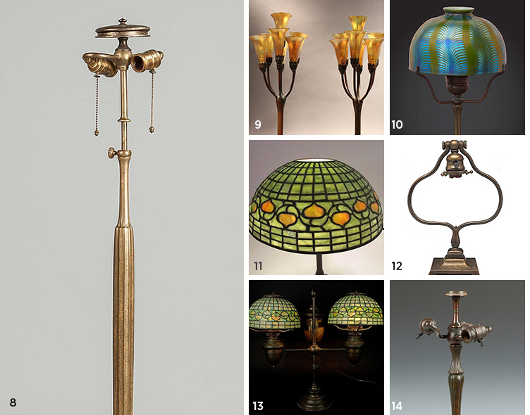 Tiffany Lamp Price Guide Values For Authentic Amp Antique