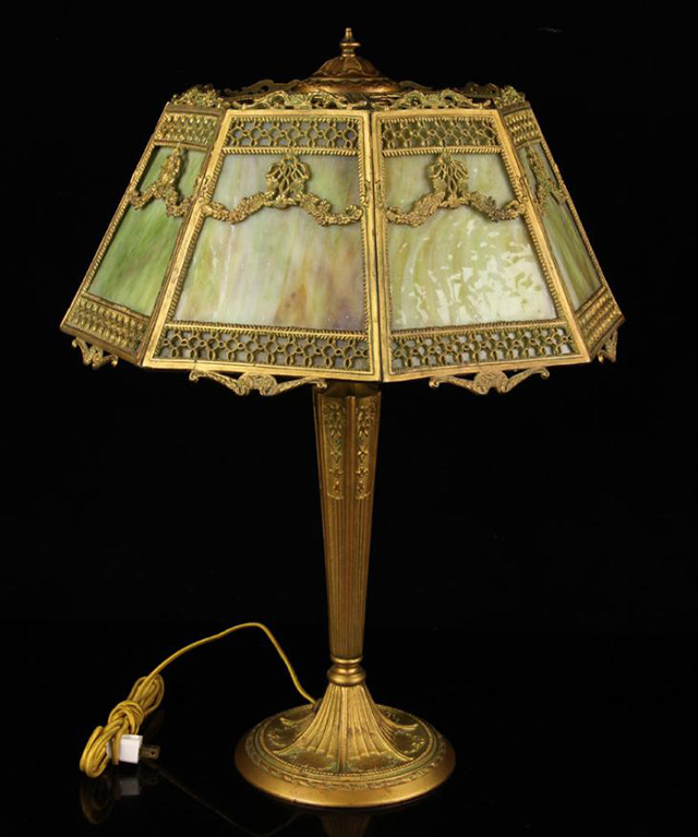 Shades of brilliance a vintage lamp shade primer by the era while the lampshade mozeypictures Image collections
