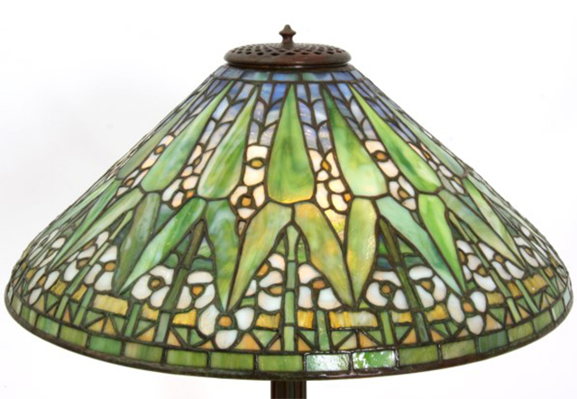 Shades of brilliance a vintage lamp shade primer in 1997 an original pink lotus tiffany lamp fetched 28 million at christies in new york the most ever paid for an authentic tiffany lamp aloadofball Choice Image