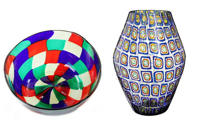 Setting a Festive Table: Fenton & Murano Glass for Every Course