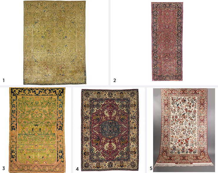 Inside The Archives Persian And Turkish Rug Prices
