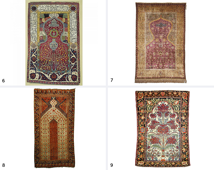 Persian And Turkish Prayer Rugs Celebrate The Visual Heritage Of The  Islamic Faith And Were Designed To Add A Means Of Portability For Worship.