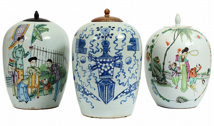 Chinese Ginger Jar Values for Authentic  amp  Antique Pieces Inside the Archives  Chinese Ginger Jars